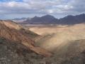 Bergpanorama in der Arabischen Wüste