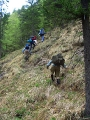 Slowenien - Die Weggefährten am Hang